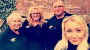 Cornwall - team selfie