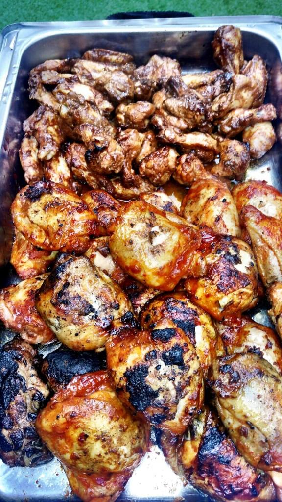 BBQ Menu -  Chicken Thighs