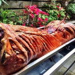 Perfectly Cooked Hog Roast