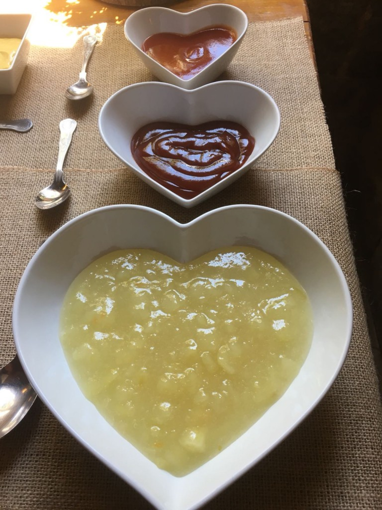 Sauces In Heart Dishes