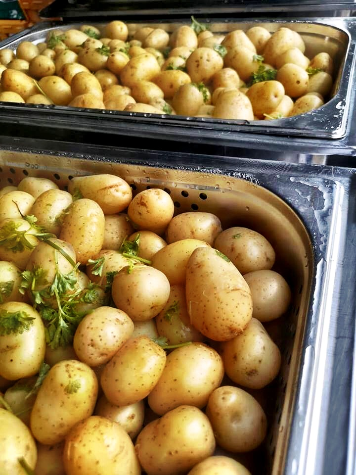 Potatoes with Herbed Butter